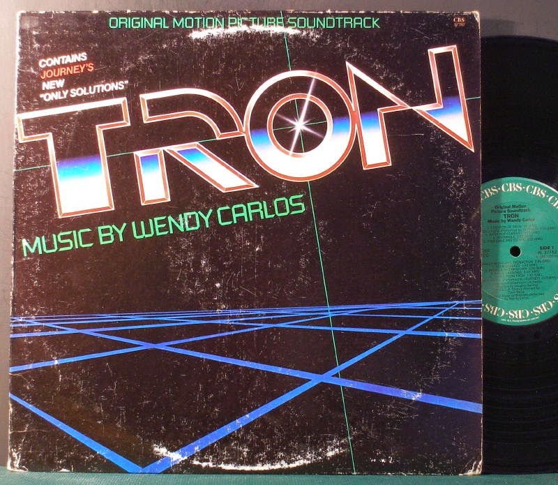 Tron soundtrack Wendy Carlos